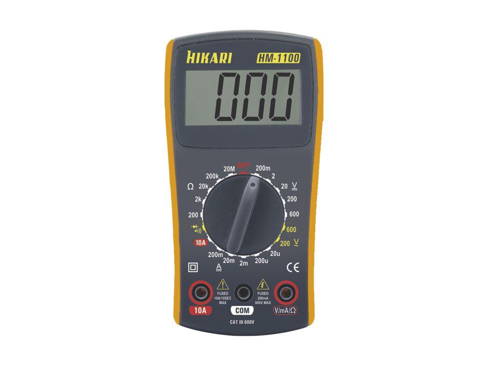 Multímetro Digital Hikari HM-1100  - MRE Ferramentas
