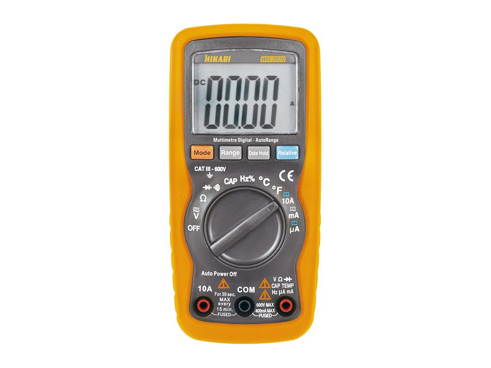 Multímetro Digital Hikari HM-2020  - MRE Ferramentas