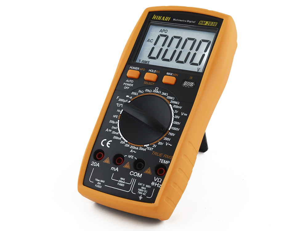 Multímetro Digital Hikari HM-2030  - MRE Ferramentas