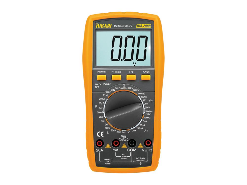 Multímetro Digital Hikari HM-2080  - MRE Ferramentas