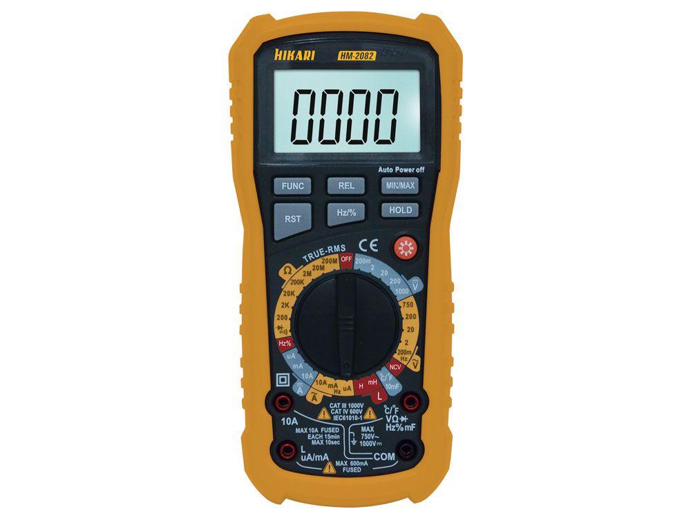 Multímetro Digital Hikari HM-2082  - MRE Ferramentas