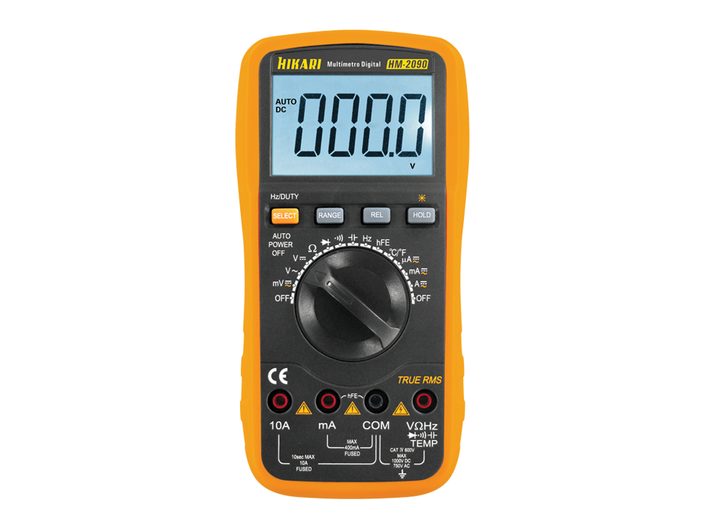 Multímetro Digital Hikari HM-2090  - MRE Ferramentas
