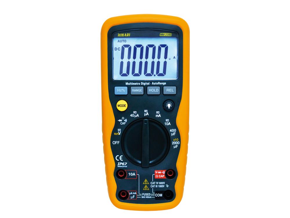 Multímetro Digital Hikari HM-2200  - MRE Ferramentas