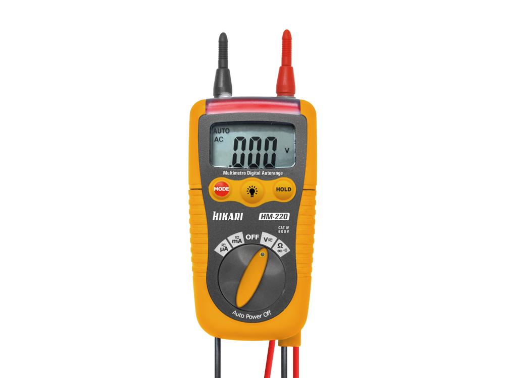 Multímetro Digital Hikari HM-220  - MRE Ferramentas
