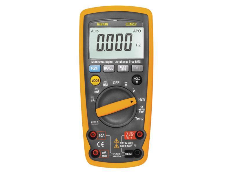 Multímetro Digital Hikari HM-2300  - MRE Ferramentas