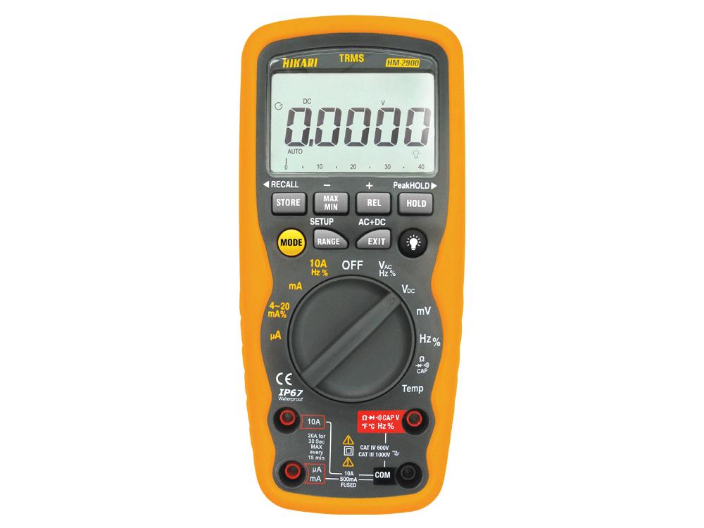 Multímetro Digital Hikari HM-2900  - MRE Ferramentas