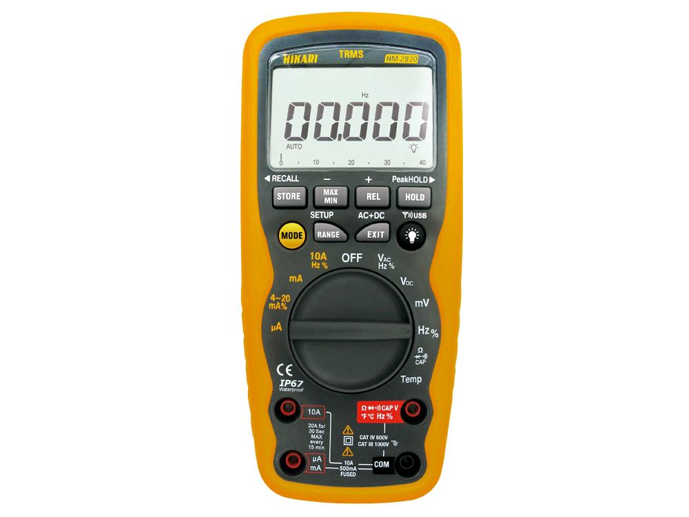 Multímetro Digital Hikari HM-2920  - MRE Ferramentas