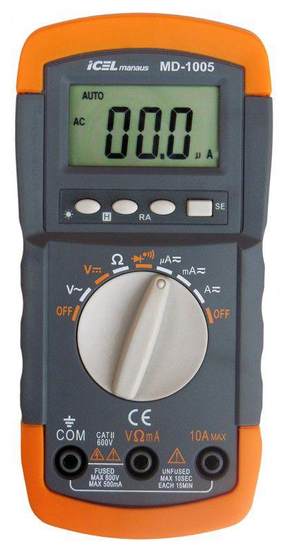 Multímetro Digital Icel MD-1005  - MRE Ferramentas