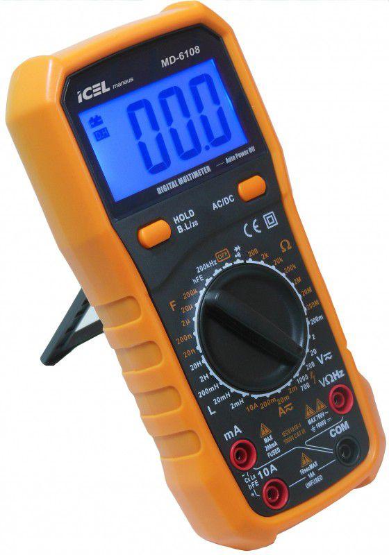 Multímetro Digital Icel MD-6108  - MRE Ferramentas