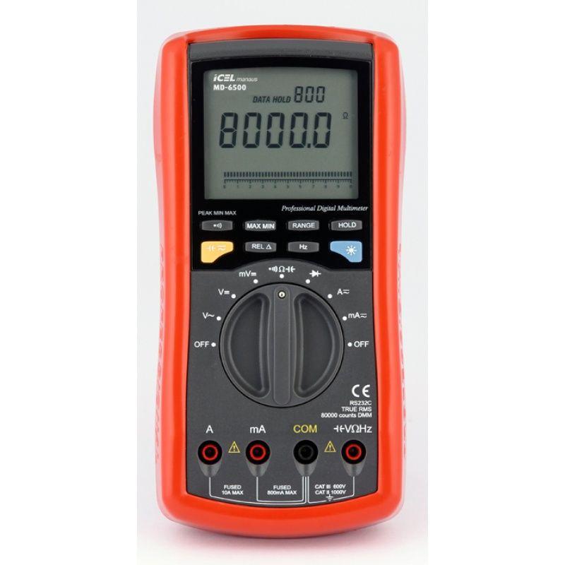 Multímetro Digital Icel MD-6500  - MRE Ferramentas