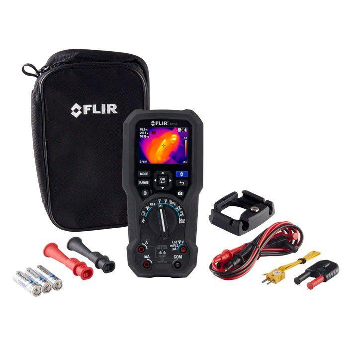 Multímetro Digital com Imagens Térmicas com IGM™ Flir DM285  - MRE Ferramentas