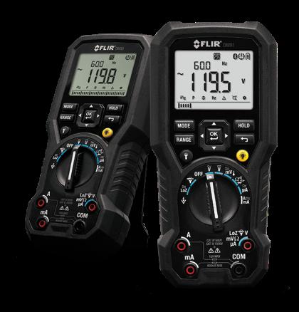 Multímetro Digital Industrial TRMS com Registro de Dados Bluetooth Flir DM-91  - MRE Ferramentas
