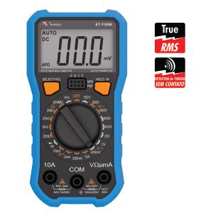 Multímetro Digital Minipa ET-1100B  - MRE Ferramentas