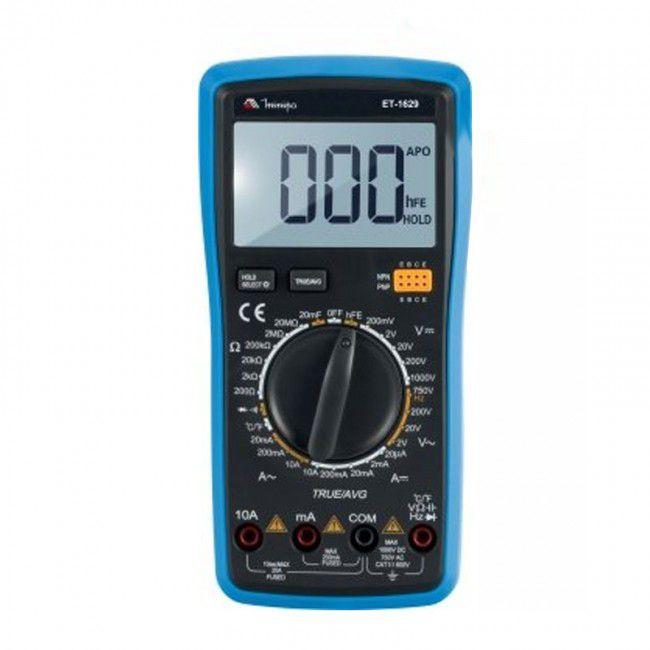 Multímetro Digital Minipa ET-1629  - MRE Ferramentas