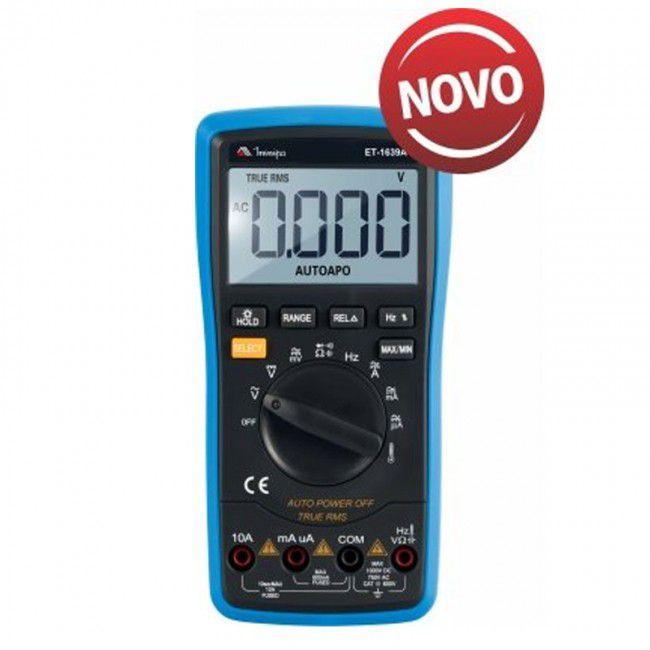 Multímetro Digital Minipa ET-1639A  - MRE Ferramentas