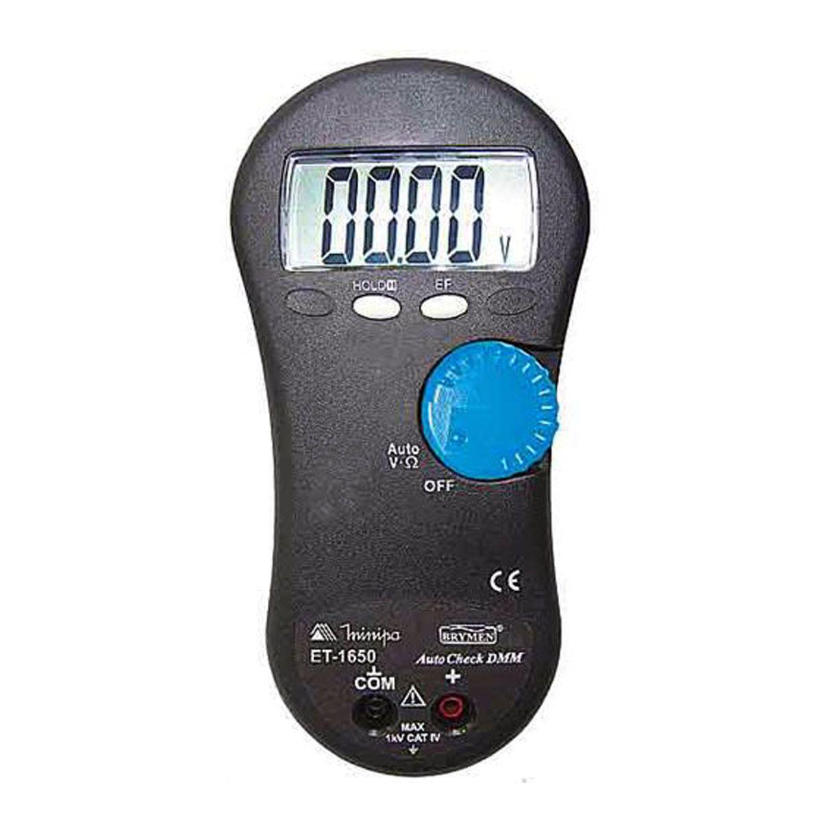 Multímetro Digital Minipa ET-1650  - MRE Ferramentas