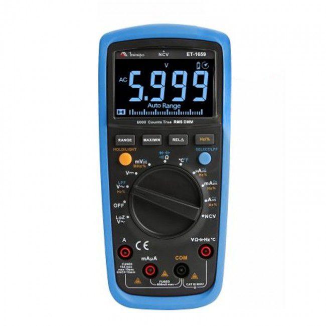 Multímetro Digital Minipa ET-1659  - MRE Ferramentas