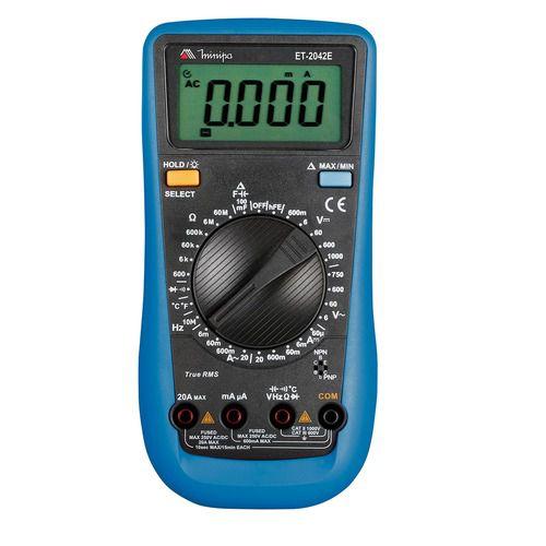 Multímetro Digital Minipa ET-2042E  - MRE Ferramentas