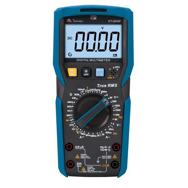 Multímetro Digital Minipa ET-2042F  - MRE Ferramentas