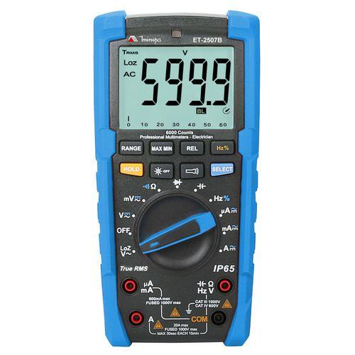 Multímetro Digital Minipa ET-2507B  - MRE Ferramentas