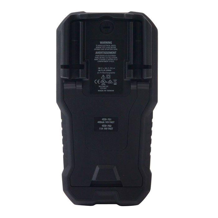 Multímetro Digital TRMS com Modo VFD Flir DM66  - MRE Ferramentas