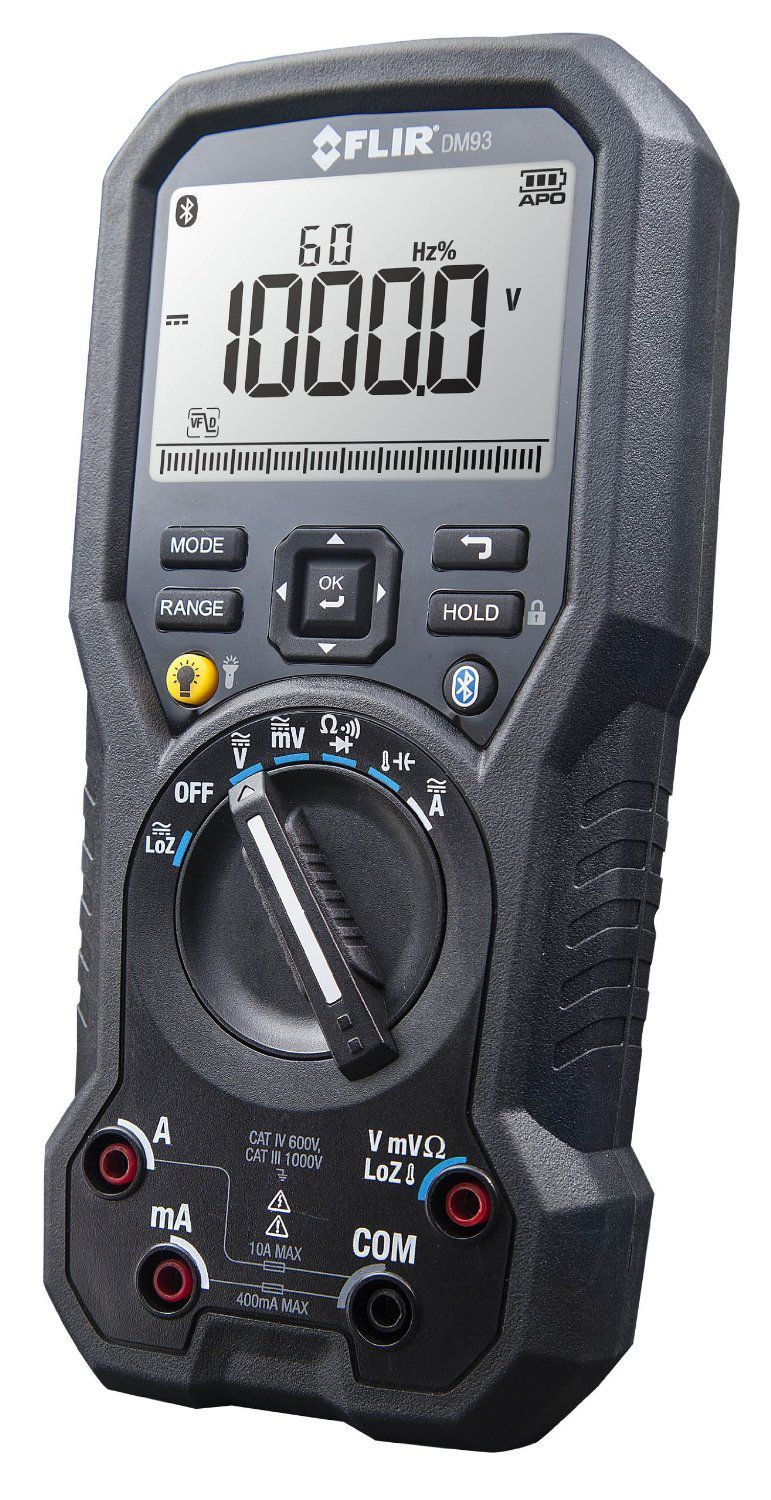 Multímetro Digital True RMS Flir DM-93  - MRE Ferramentas