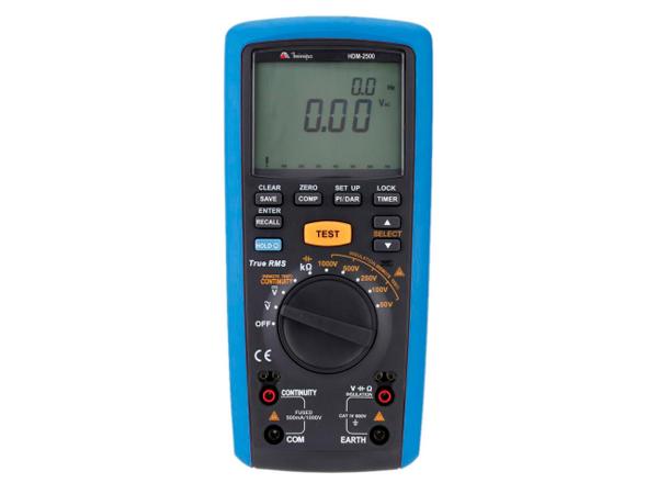 Multímetro Megômetro Minipa HDM-2500  - MRE Ferramentas