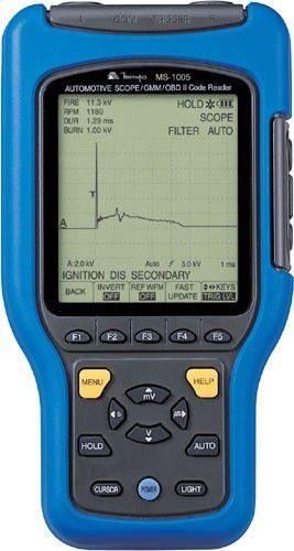 Osciloscópio e multímetro gráfico automotivo Minipa MS-1005  - MRE Ferramentas
