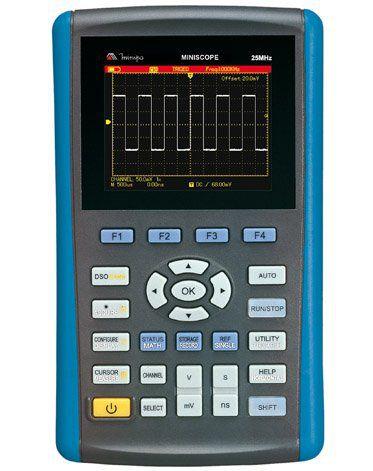 Osciloscópio / Multímetro Portátil 25Mhz Minipa MINISCOPE  - MRE Ferramentas