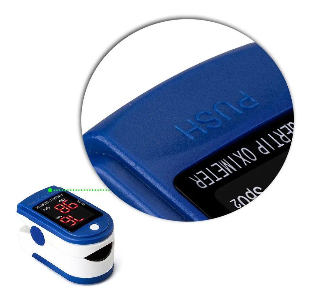 Oxímetro de Pulso de Dedo Digital Jziki JZK-302  - MRE Ferramentas