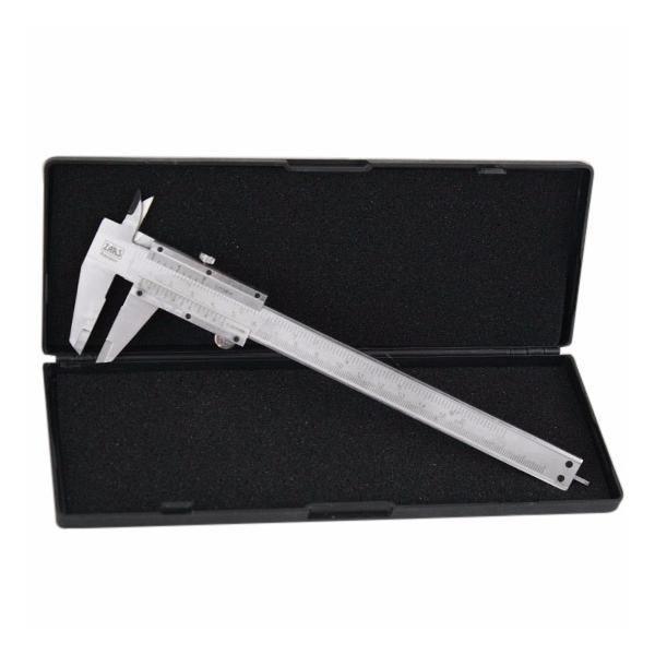 Paquímetro Universal Analógico 6 /150mm Em Aço 0.05mm  - MRE Ferramentas