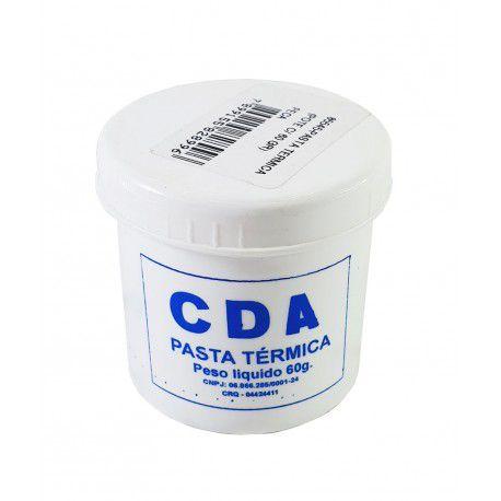 Pasta Térmica de Silicone Branca CDA  - MRE Ferramentas