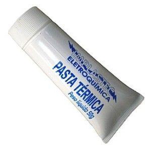 Pasta Térmica de Silicone Branca Implastec   - MRE Ferramentas