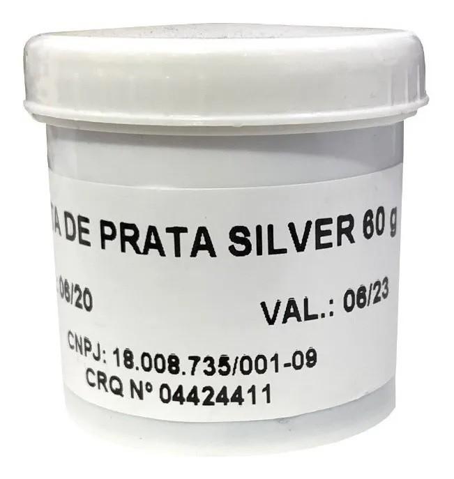 Pasta Térmica Prata CDA Silver  - MRE Ferramentas