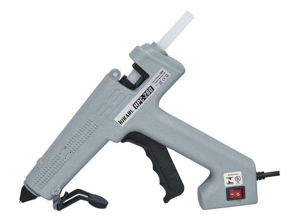 Pistola de Cola Quente Profissional 280W Hikari HPC-280  - MRE Ferramentas