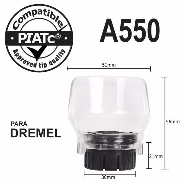Protetor Acoplamento Capa De Proteção A550 P/ Dremel Micro Retifica  - MRE Ferramentas