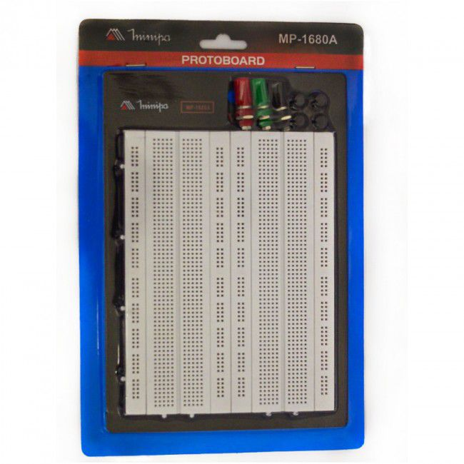 Protoboard 1680 pontos Minipa MP-1680A  - MRE Ferramentas