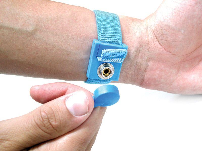 Pulseira Anti-Estática com fio  - MRE Ferramentas
