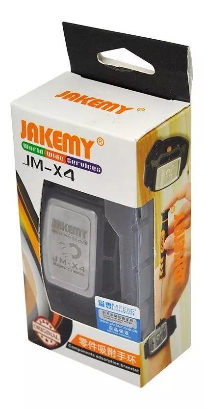Pulseira Magnética para Parafusos Jakemy JM-X4  - MRE Ferramentas