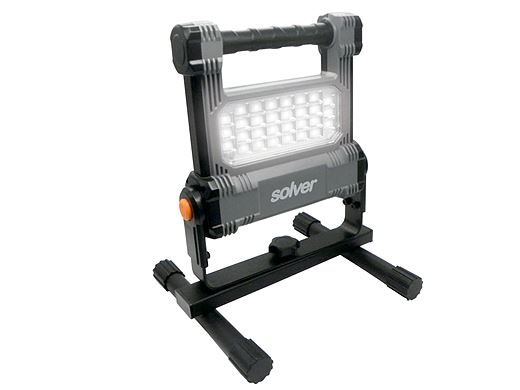 Refletor Portátil Pro Recarregável LED Solver SLP-501  - MRE Ferramentas