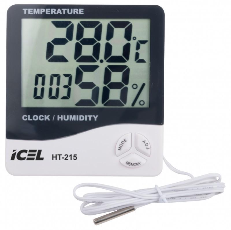 Relógio Termo-Higrômetro Digital Icel HT-215  - MRE Ferramentas