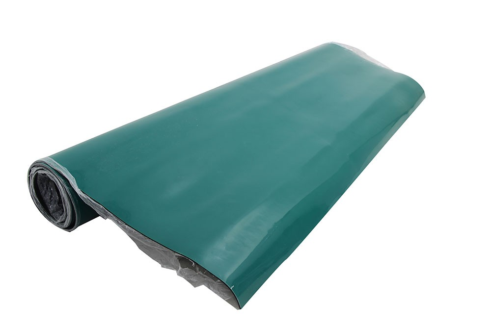 Rolo de Manta Anti-estática Dupla Camada Verde / Preto 1 X 10MT  - MRE Ferramentas