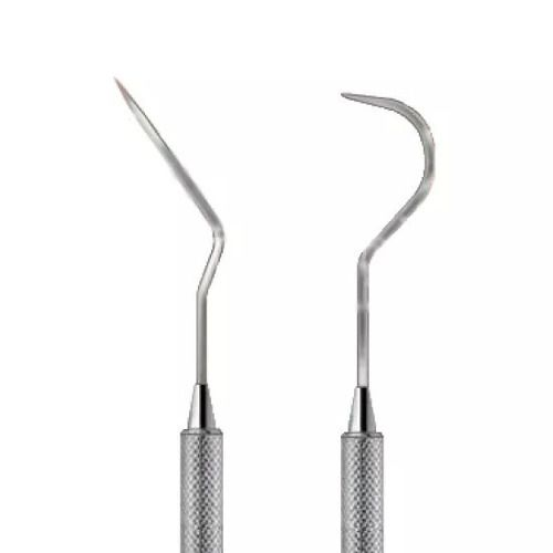 Sonda Exploradora Aço Inox N6 Dentista Para Uso Em Celular  - MRE Ferramentas