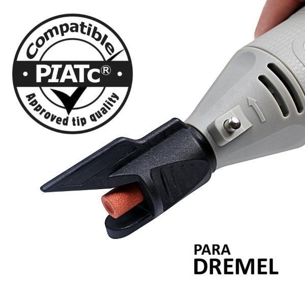 Suporte Afiador Tesoura Faca Para Micro Retifica Tipo Dremel  - MRE Ferramentas
