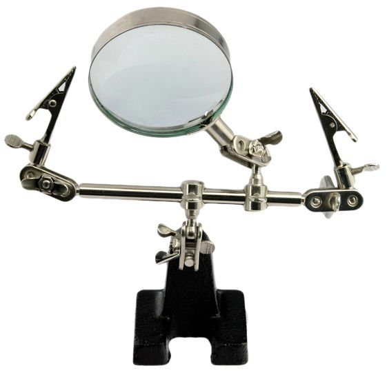 Suporte para placa com lupa DS-Tools DS-10D  - MRE Ferramentas