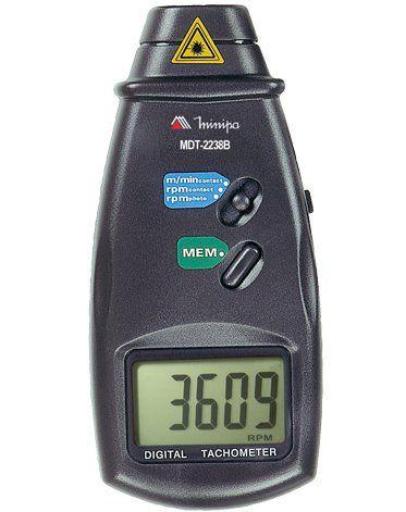 Tacômetro Digital Minipa MDT-2238B  - MRE Ferramentas