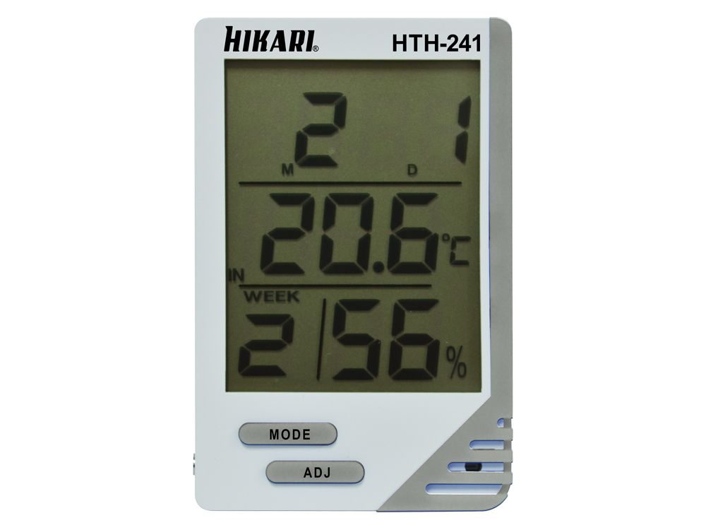 Termo-Higrômetro Digital Hikari HTH-241  - MRE Ferramentas