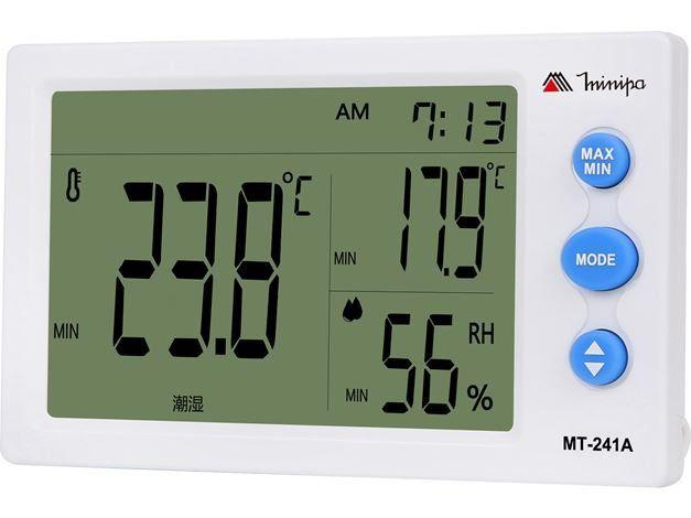 Termo-Higrômetro Digital Minipa MT-241A  - MRE Ferramentas
