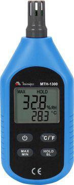 Termo-Higrômetro Digital Minipa MTH-1300  - MRE Ferramentas