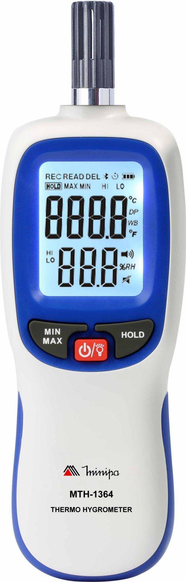 Termo-Higrômetro Digital Minipa MTH-1364  - MRE Ferramentas
